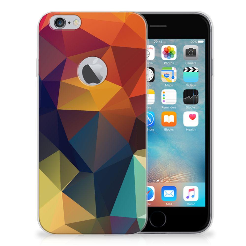 Apple iPhone 6 Plus | 6s Plus TPU Hoesje Polygon Color