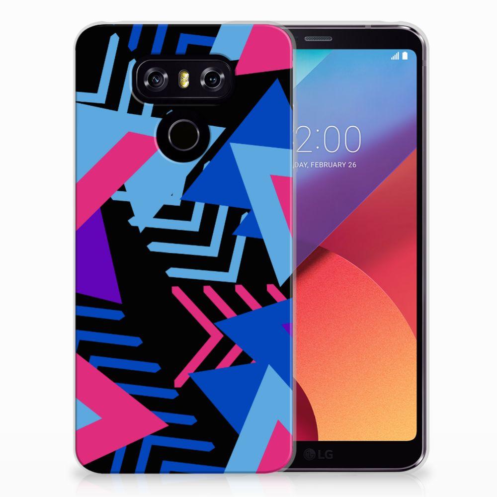 LG G6 TPU Hoesje Funky Triangle