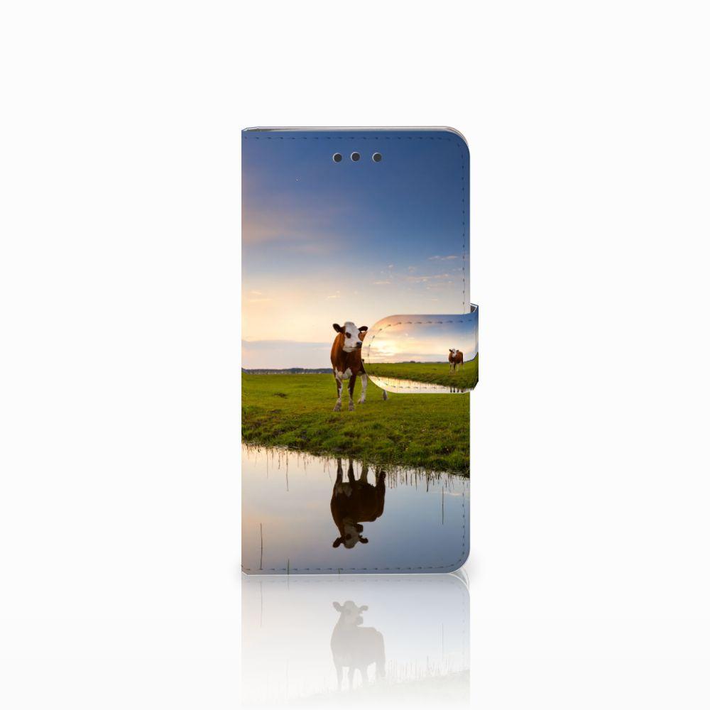 HTC U Play Boekhoesje Design Koe