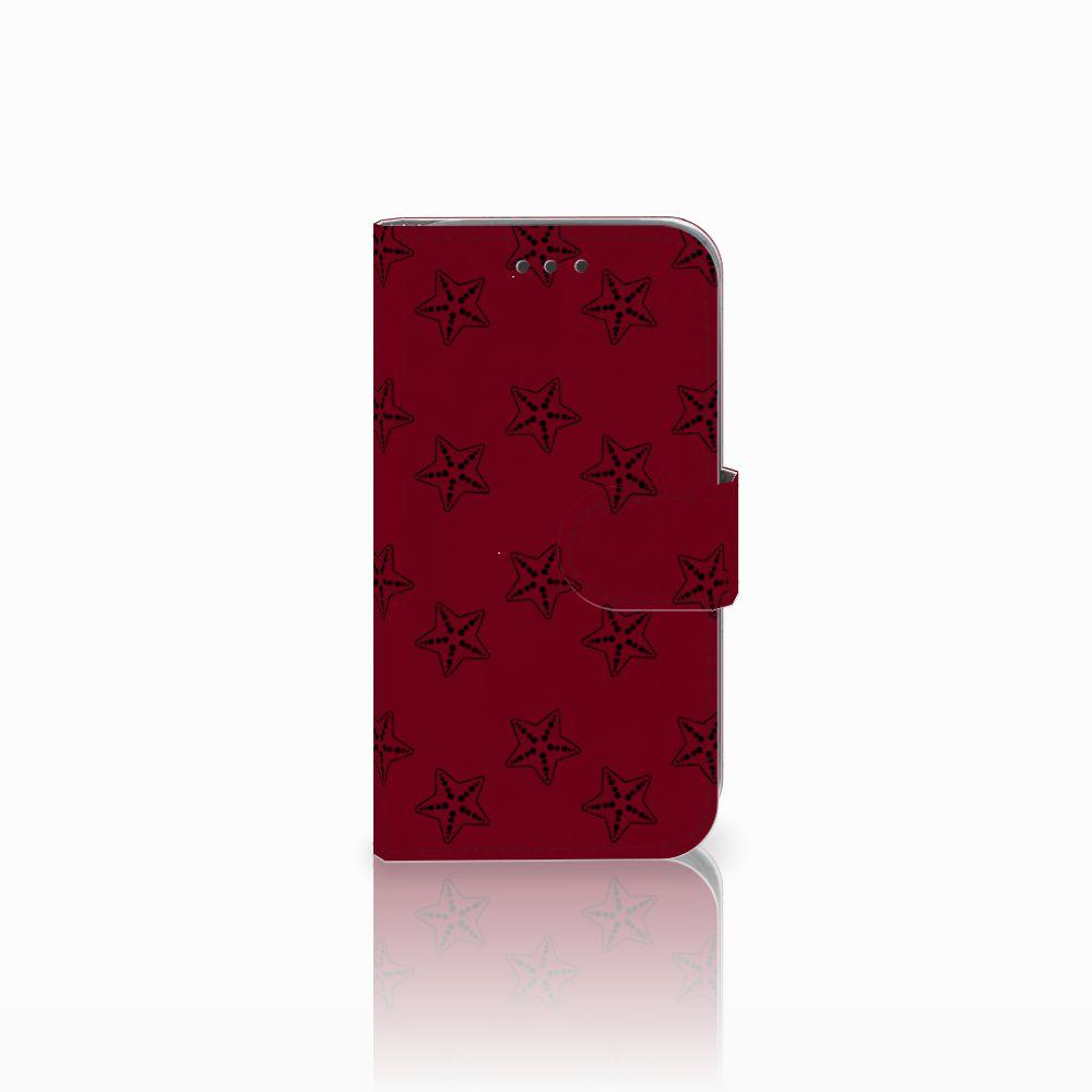Samsung Galaxy Core Prime Uniek Boekhoesje Sterren