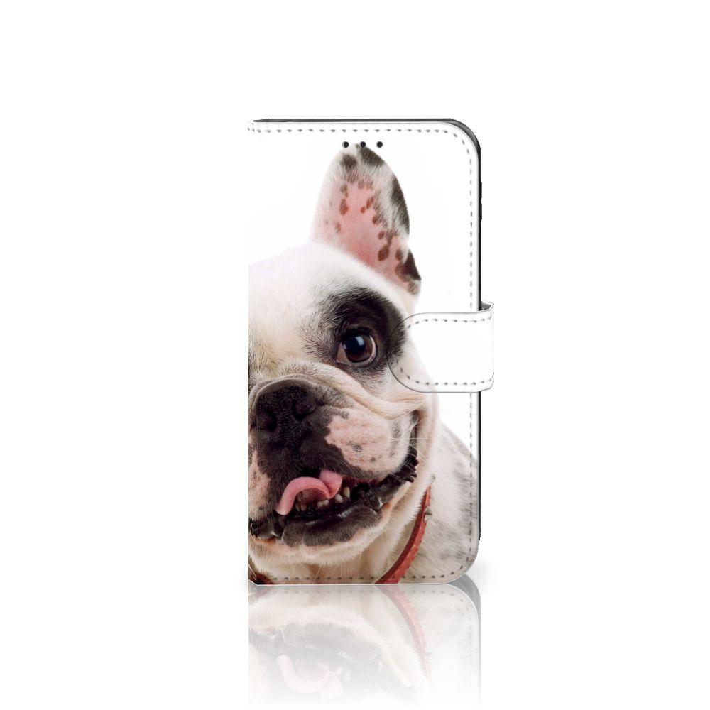 Samsung Galaxy J5 2017 Uniek Boekhoesje Franse Bulldog