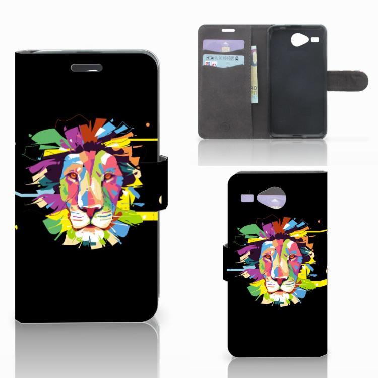 Acer Liquid Z520 Leuk Hoesje Lion Color