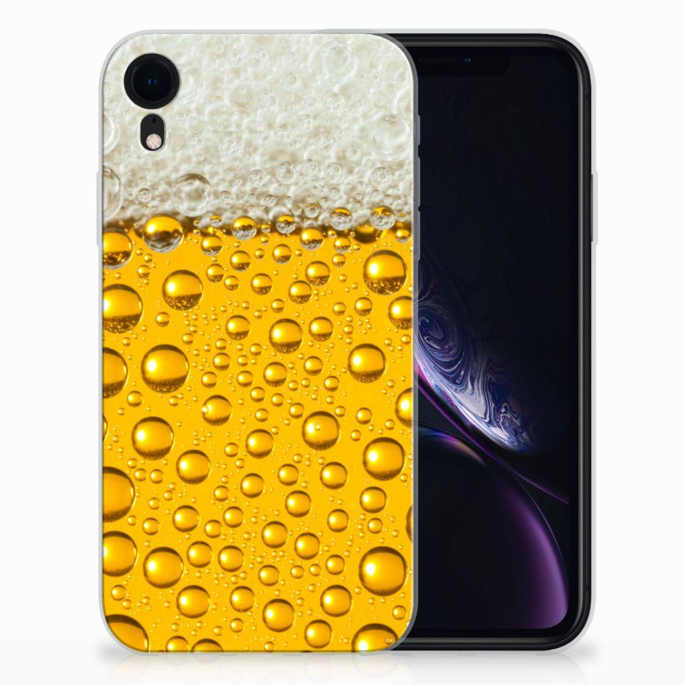 Apple iPhone Xr Siliconen Case Bier