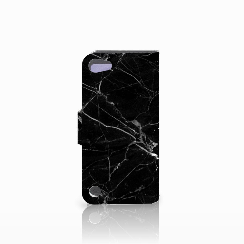 Apple iPod Touch 5 | 6 | iPod (2019) Bookcase Marmer Zwart