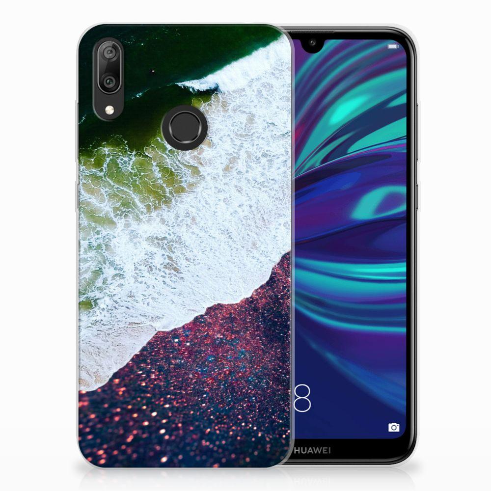 Huawei Y7 2019 TPU Hoesje Sea in Space