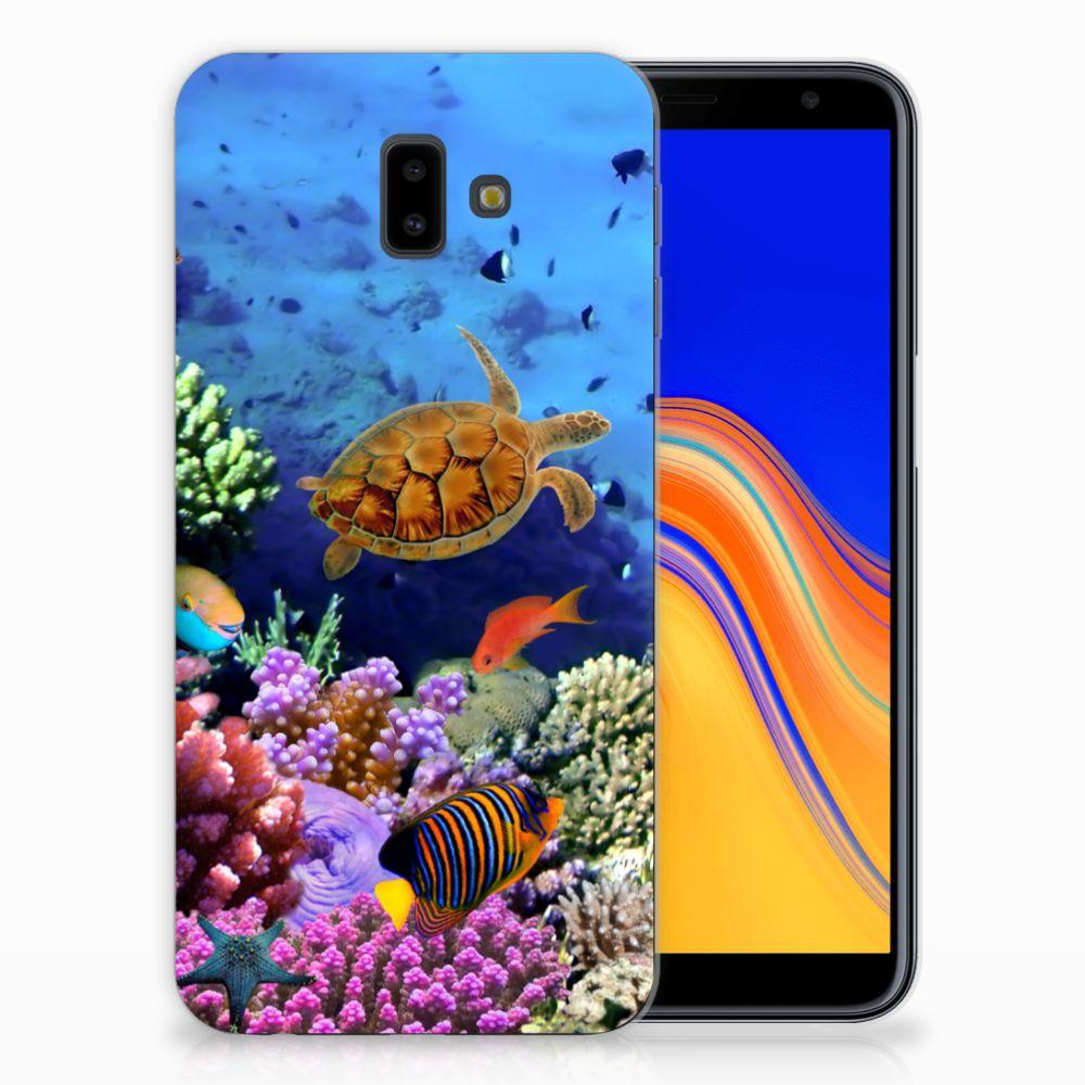 Samsung Galaxy J6 Plus (2018) Leuk Hoesje Vissen
