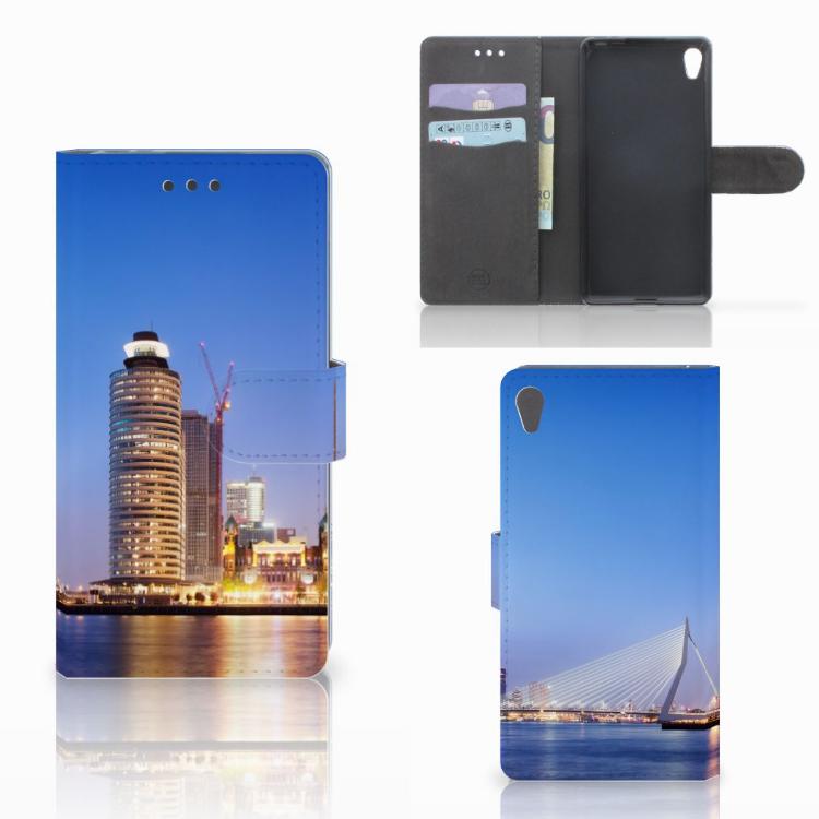 Sony Xperia E5 Flip Cover Rotterdam
