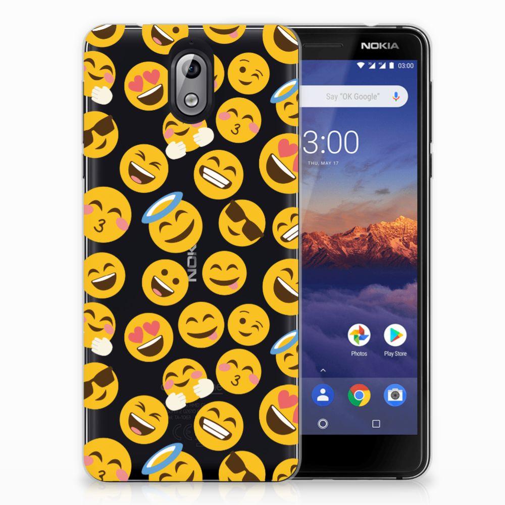 Nokia 3.1 (2018) TPU bumper Emoji