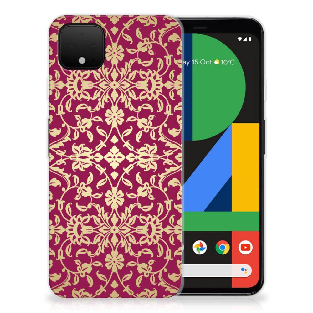 Siliconen Hoesje Google Pixel 4 XL Barok Pink