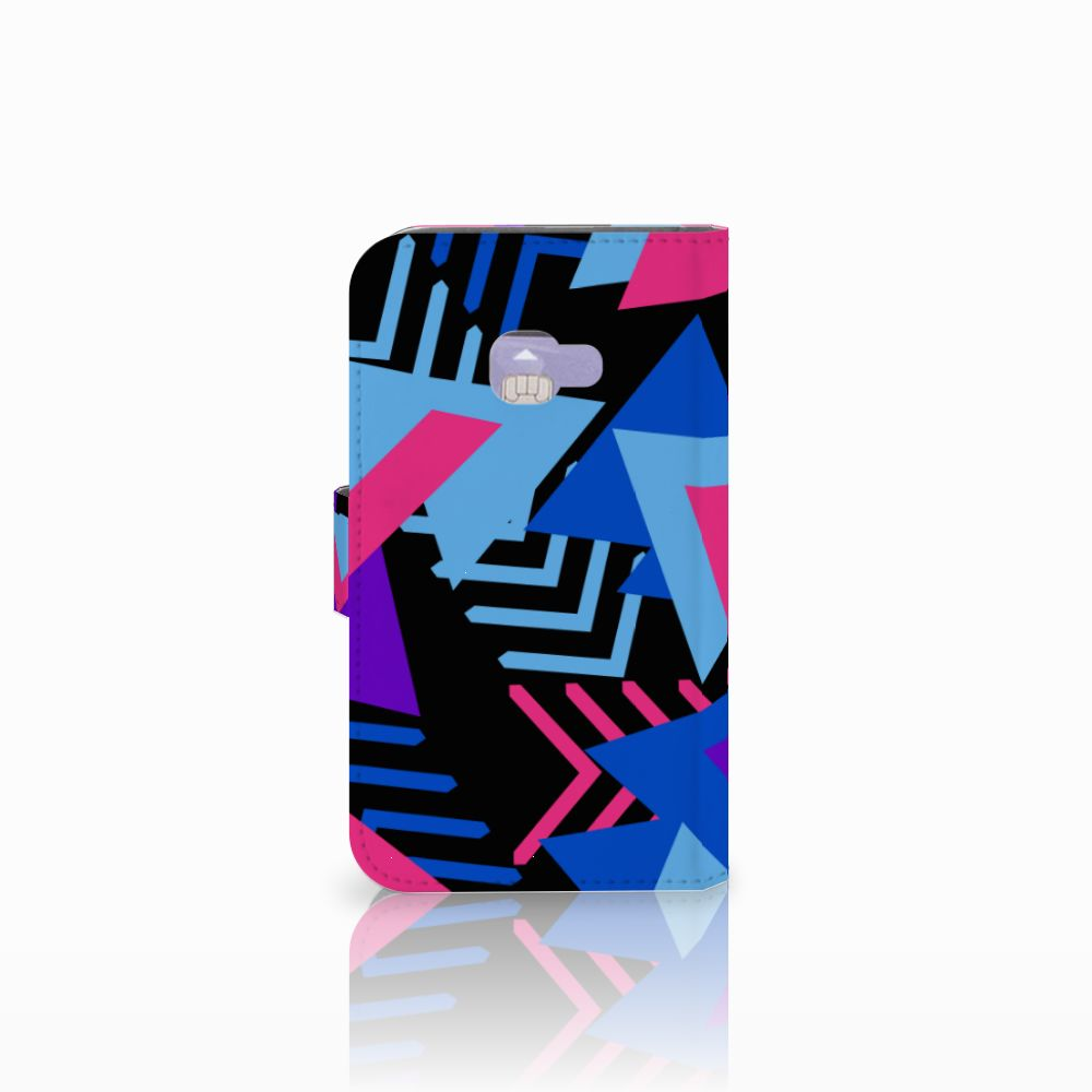 Samsung Galaxy Xcover 4   Xcover 4s Bookcase Funky Triangle