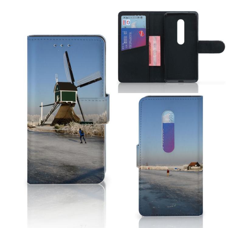 Motorola Moto G 3e Generatie Flip Cover Schaatsers