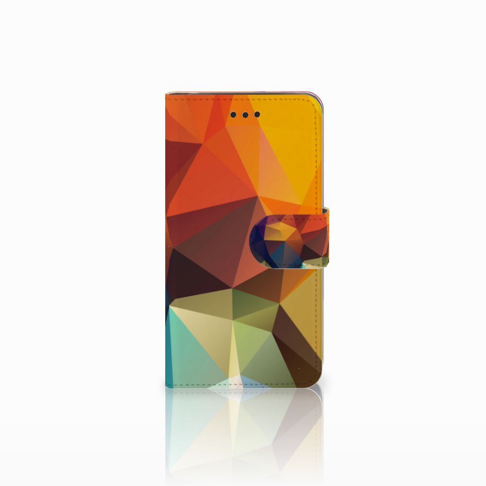 Samsung Galaxy J2 Pro 2018 Bookcase Polygon Color