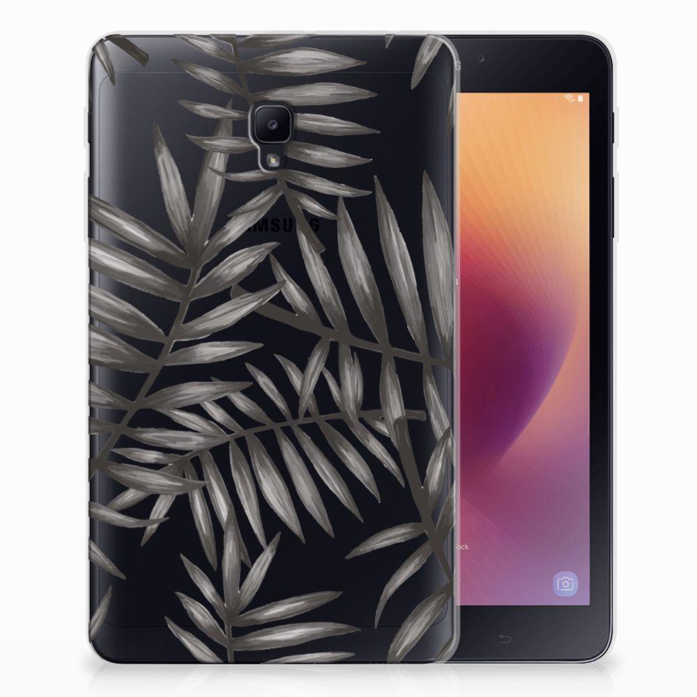 Samsung Galaxy Tab A 8.0 (2017) Uniek Tablethoesje Leaves Grey