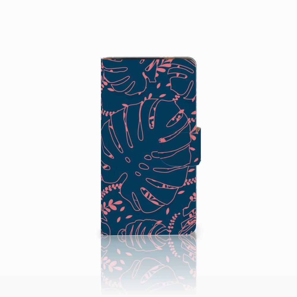 HTC Desire 601 Boekhoesje Design Palm Leaves