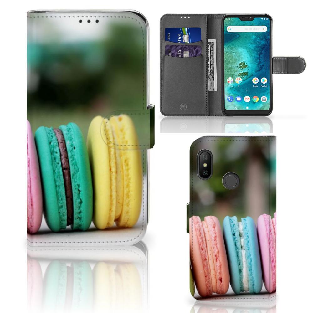 Xiaomi Mi A2 Lite Book Cover Macarons