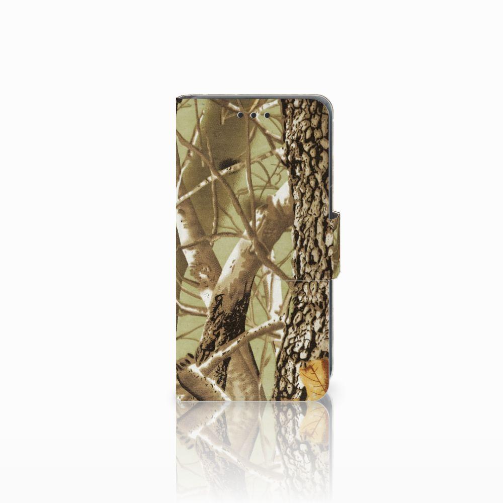 Nokia Lumia 630 Uniek Hoesje met Opbergvakjes Camouflage