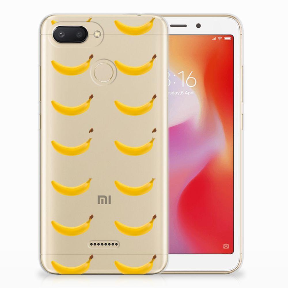 Xiaomi Redmi 6 Siliconen Case Banana