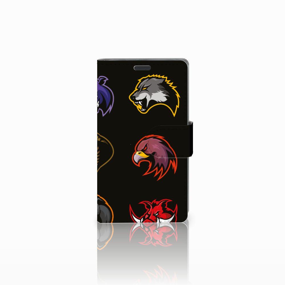 Nokia Lumia 625 Uniek Boekhoesje Cartoon