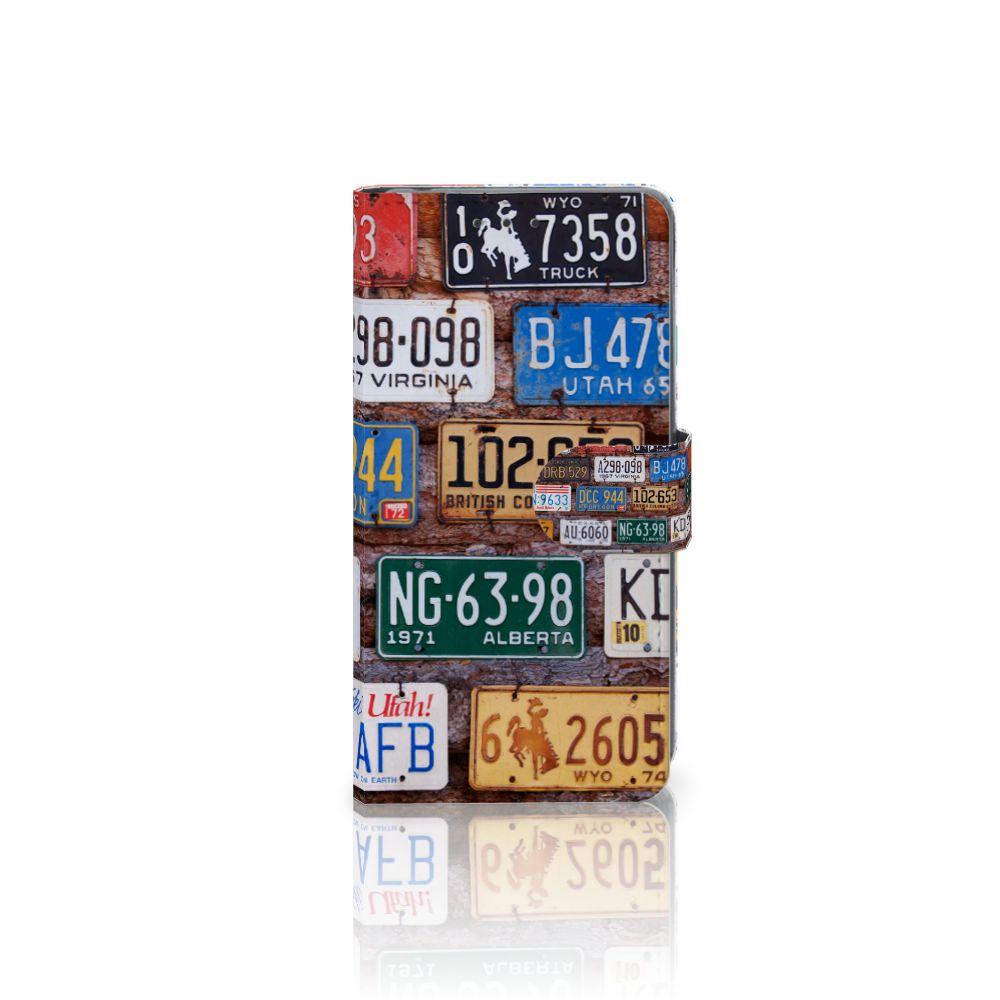 Sony Xperia Z2 Uniek Boekhoesje Kentekenplaten