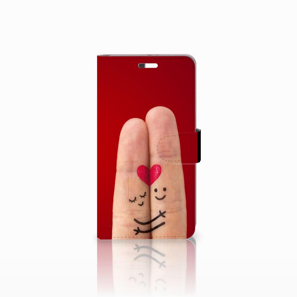 Huawei P9 Plus Uniek Boekhoesje Liefde