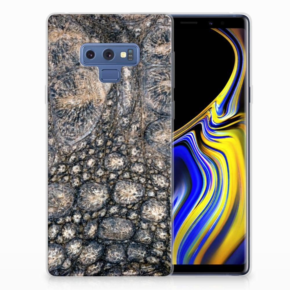 Samsung Galaxy Note 9 TPU Hoesje Krokodillenprint