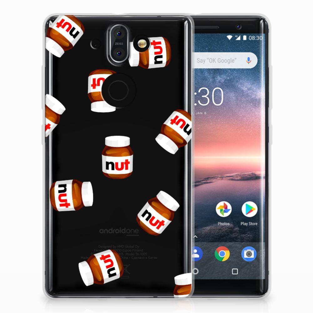 Nokia 9 | 8 Sirocco Uniek TPU Hoesje Nut Jar