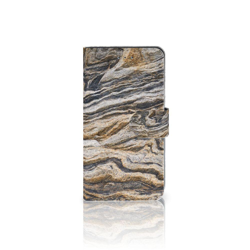 Samsung Galaxy J4 2018 Boekhoesje Design Steen