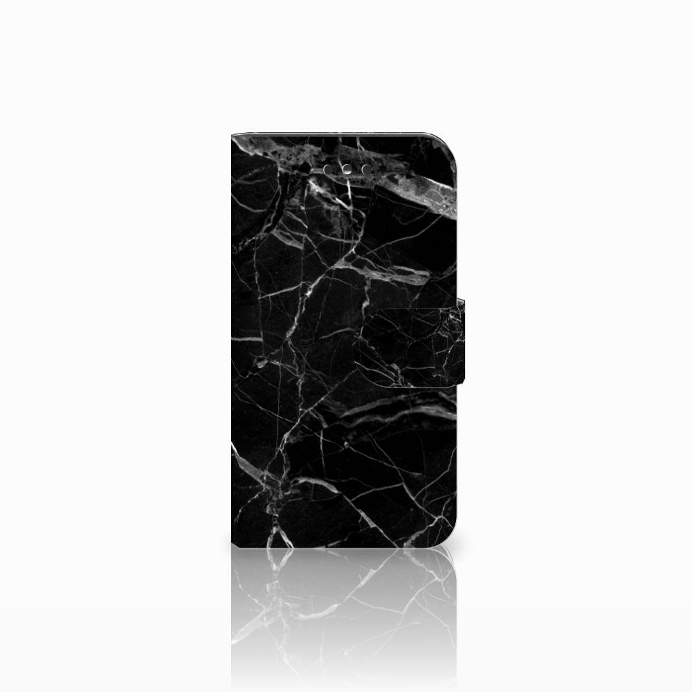 Nokia 1 Uniek Boekhoesje Marmer Zwart