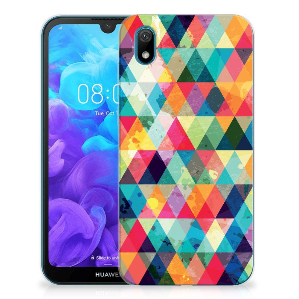 Huawei Y5 (2019) TPU bumper Geruit