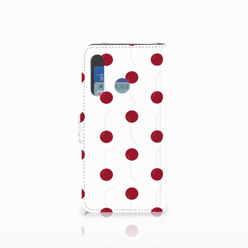 Huawei Nova 4 Book Cover Cherries