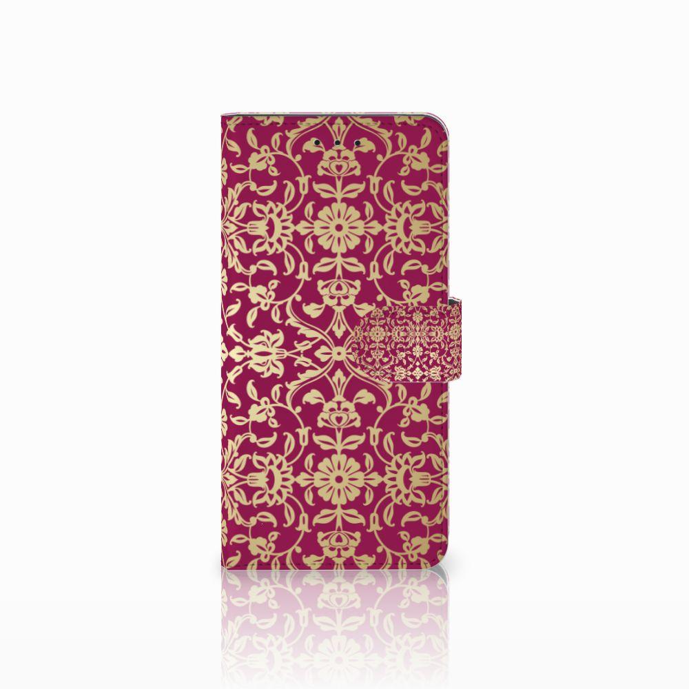 Motorola Moto E5 Plus Boekhoesje Design Barok Pink