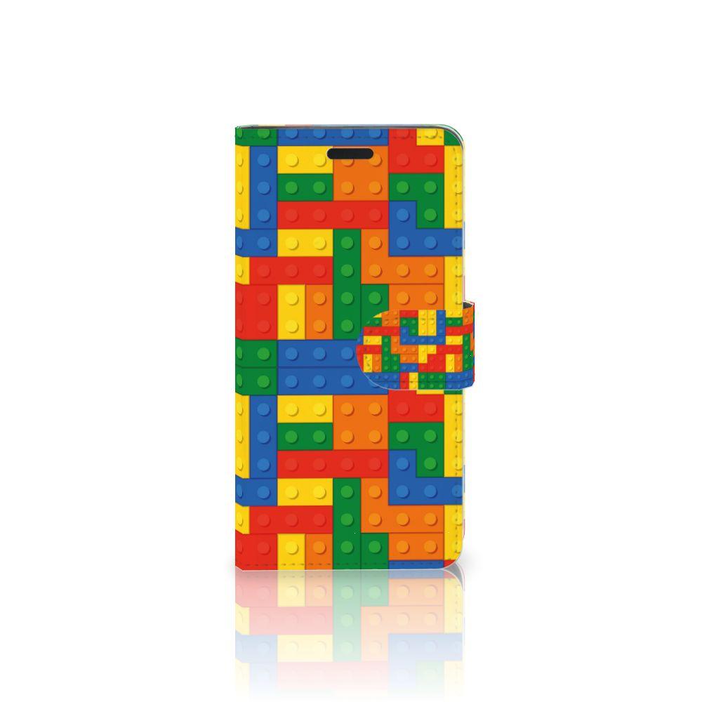 HTC 10 Boekhoesje Design Blokken