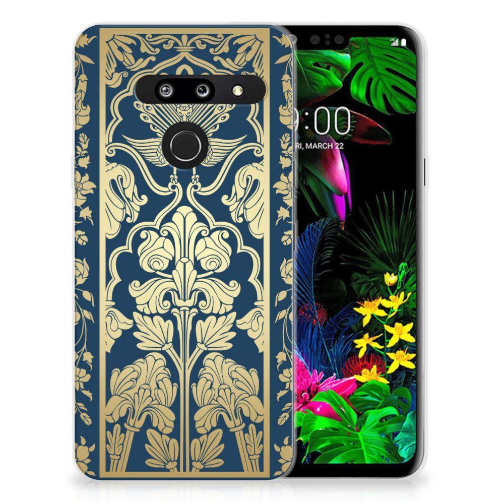 LG G8 Thinq TPU Case Golden Flowers