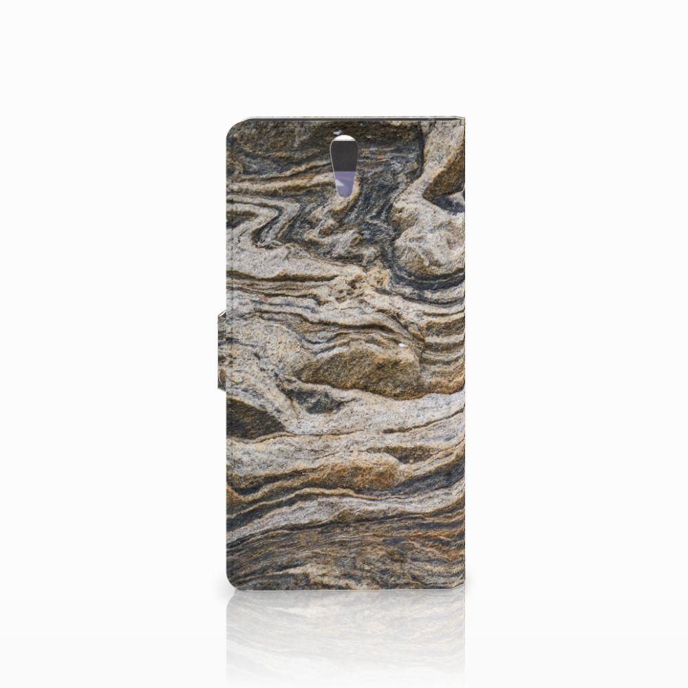 Sony Xperia C5 Ultra Bookcase Steen