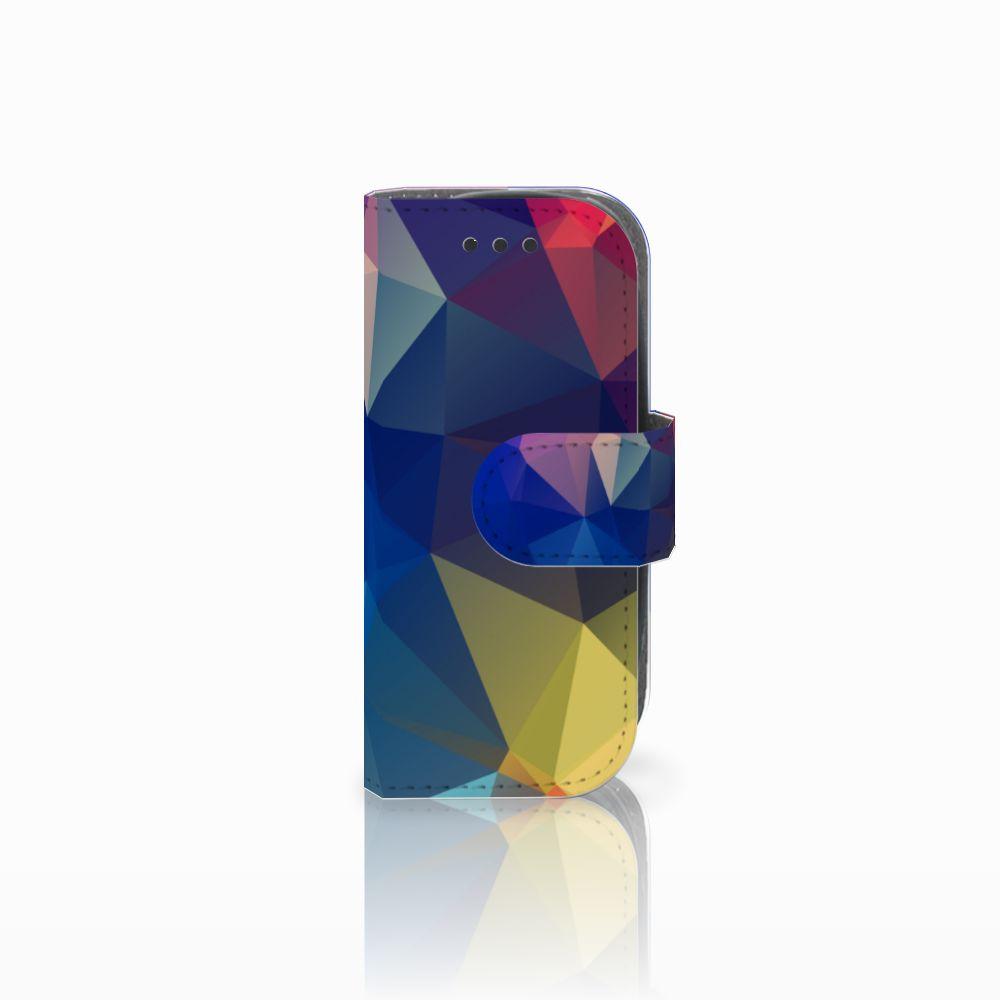 Nokia 3310 (2017) Uniek Boekhoesje Polygon Dark