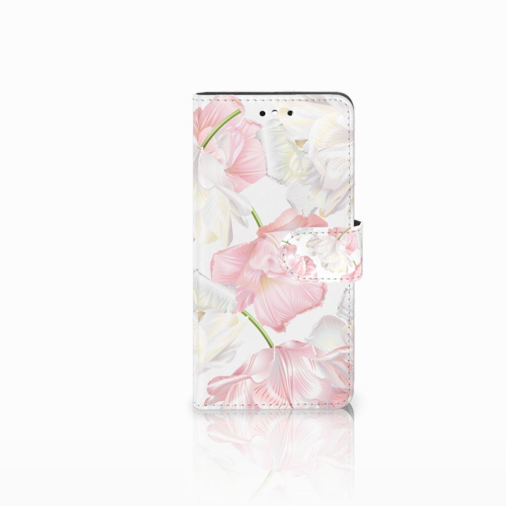 Huawei P8 Lite Smart (GR3) Boekhoesje Design Lovely Flowers