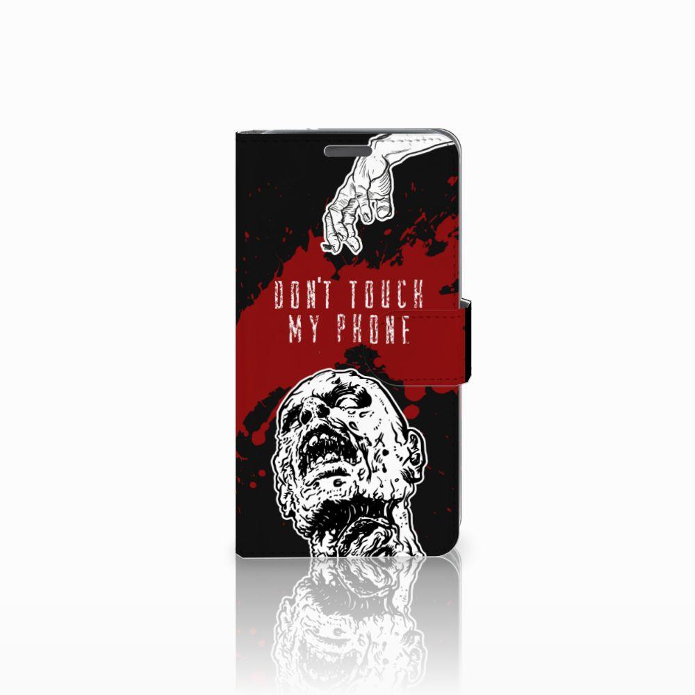 Wiko Lenny Boekhoesje Design Zombie Blood