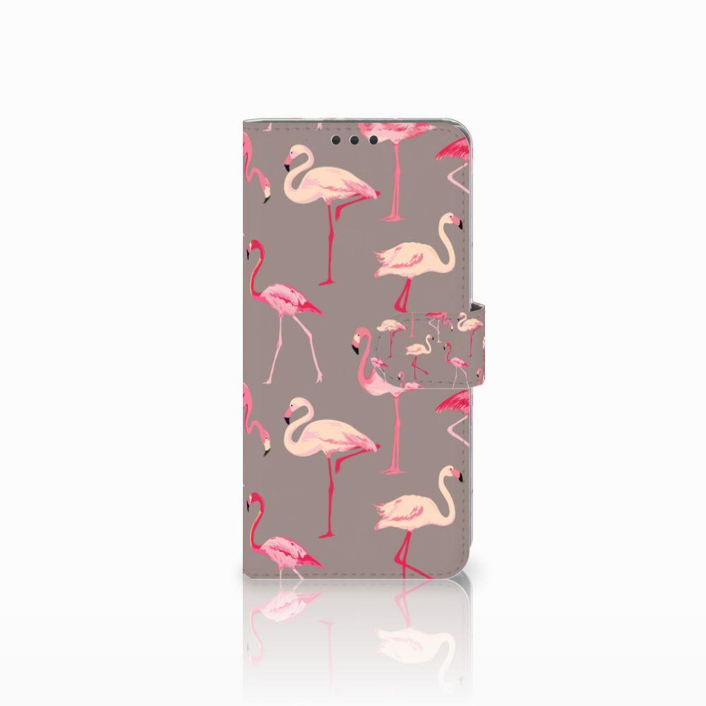 Sony Xperia Z5 Premium Uniek Boekhoesje Flamingo