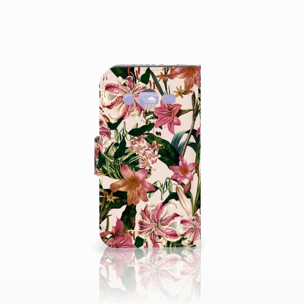 Samsung Galaxy Core 2 Hoesje Flowers