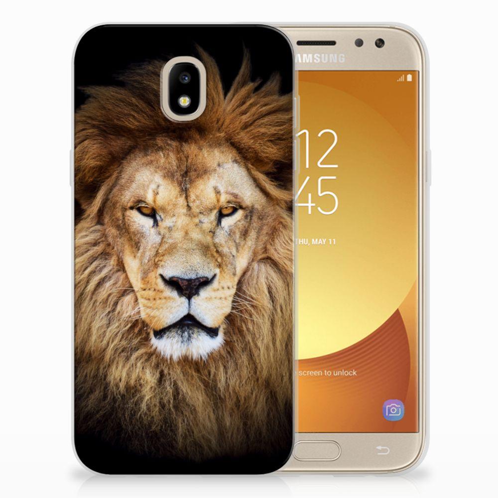Samsung Galaxy J5 2017 TPU Hoesje Leeuw