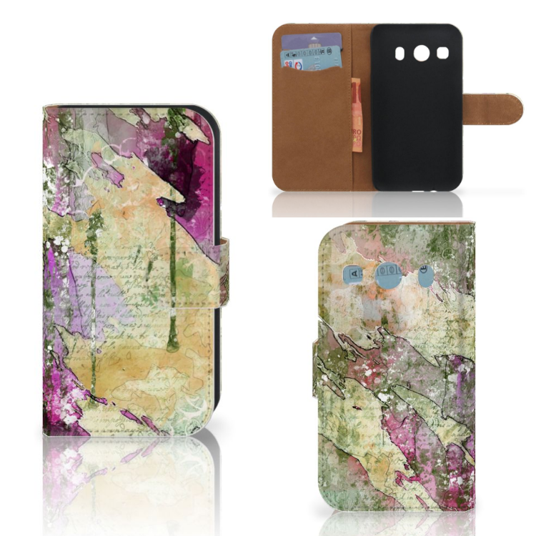 Hoesje Samsung Galaxy Ace 4 4G (G357-FZ) Letter Painting