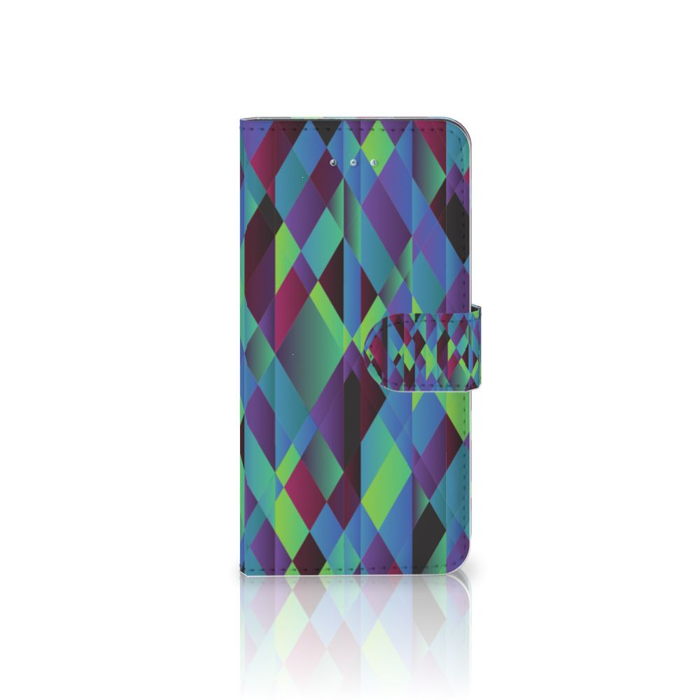 Honor 4A | Y6 Bookcase Abstract Green Blue
