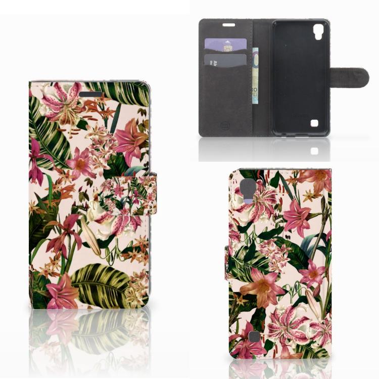 LG X Power Hoesje Flowers