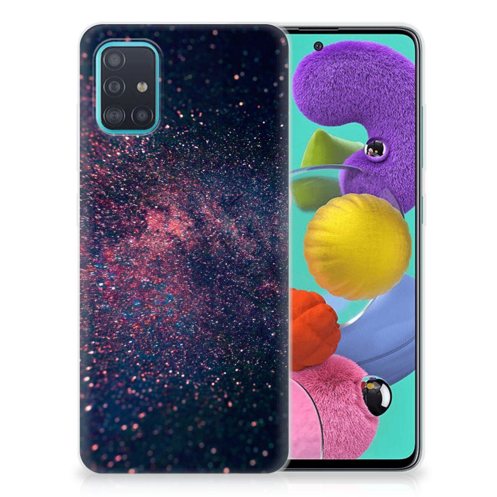 Samsung Galaxy A51 TPU Hoesje Stars
