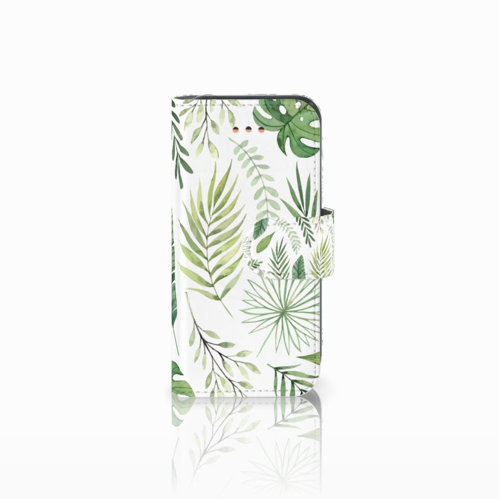 Apple iPhone 5C Uniek Boekhoesje Leaves