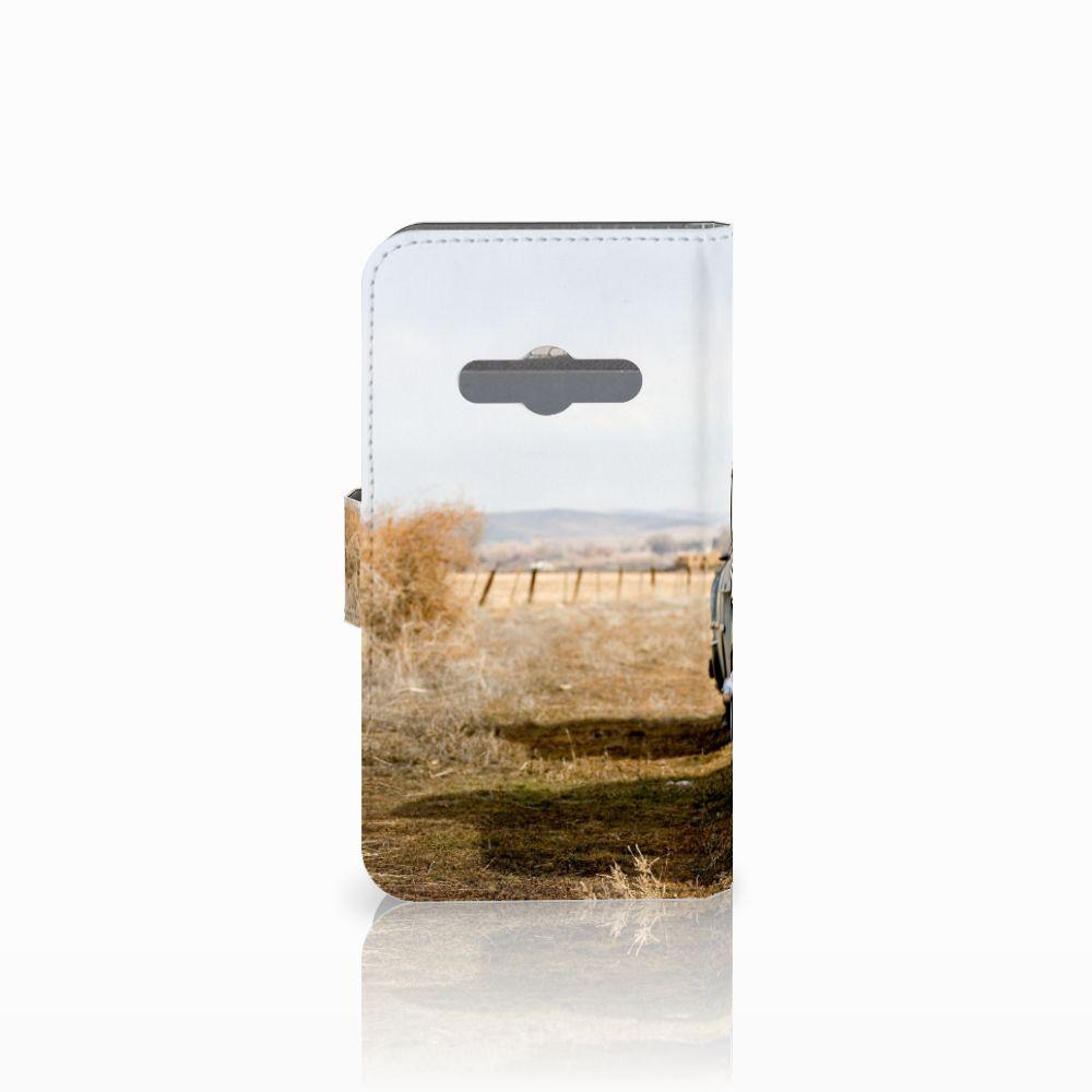 Samsung Galaxy Xcover 3 | Xcover 3 VE Telefoonhoesje met foto Vintage Auto