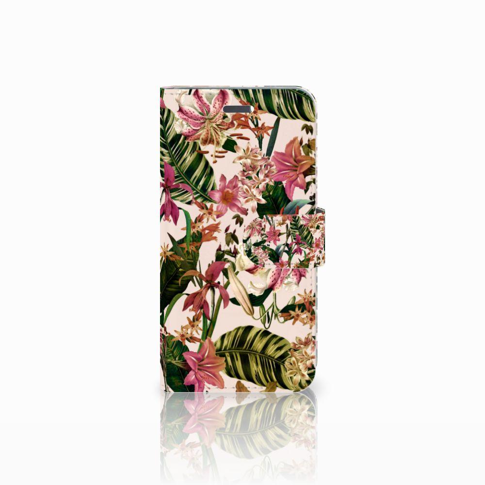 Lenovo Vibe K5 Uniek Boekhoesje Flowers