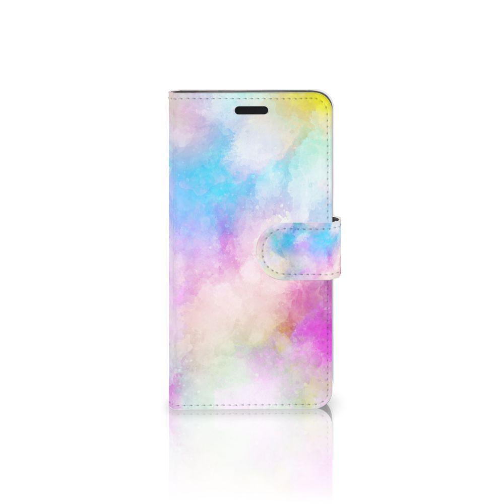 HTC 10 Uniek Boekhoesje Watercolor Light
