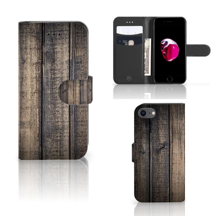 Apple iPhone 7 | 8 Book Style Case Steigerhout