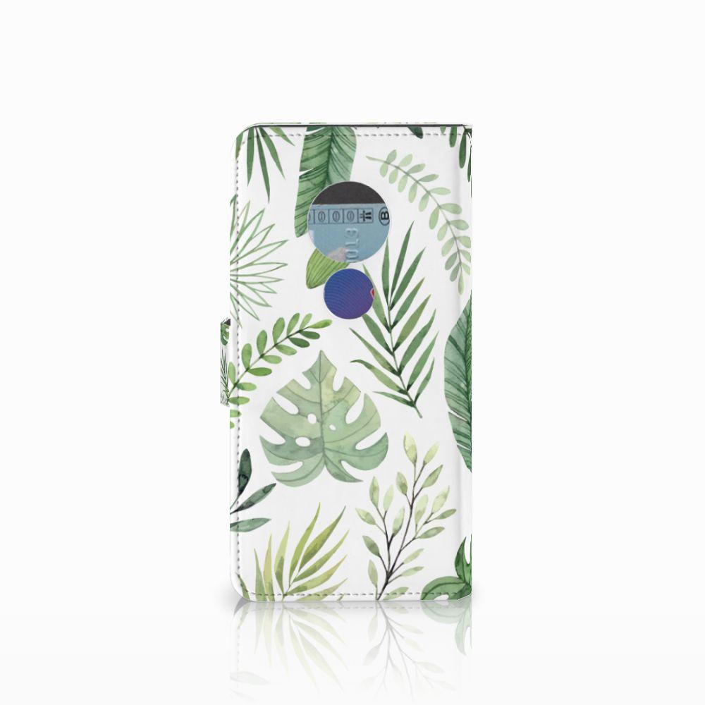 Motorola Moto E5 Hoesje Leaves